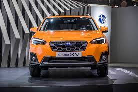 orange subaru impreza refreshing or revolting 2018 subaru crosstrek motor trend