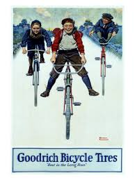 bf goodrich bicycle tires norman rockwell prints