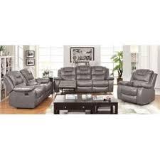 Reclining Sofa Ashley Furniture Ashley Furniture Magician Gray Leather Reclining Sofa