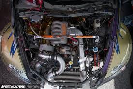 nissan titan engine swap pick your weapon the engine bays of formula drift speedhunters