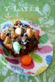 Seven Layer Carrot Cake Bars U2013 Home Is Where The Boat Is