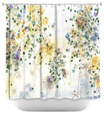 Shower Curtain Contemporary Aspen Grove Shower Curtain By Dawn Derman Contemporary Shower