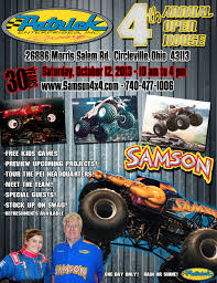 monster truck show grand rapids mi samson 4x4 monster truck 2014 racing event schedule monstertruck
