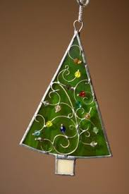 special listing for tree ornament stained glass