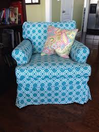 slipcover chic turquoise outdoor fabric for inside