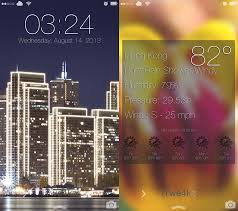 get ios 7 dynamic wallpapers with parallax effect on your lock screen