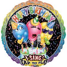 singing balloon singing balloon birthday balloon online melbourne
