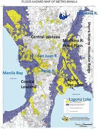 Map Of Metro by 2009 Typhoon Ondoy Flood Disasters In Metro Manila Pdf Download