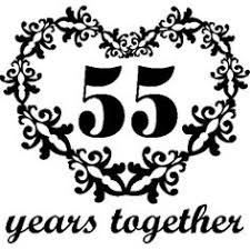 55th wedding anniversary personalized 55th anniversary gift for him 55 year wedding