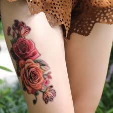 tattoo on leg for women online buy wholesale thigh tattoos from china thigh tattoos