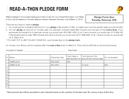 Pledge Sheets For Fundraising Template by Gofundme Pledge A Thon