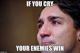 Why Are You Crying Meme - if you cry your enemies win