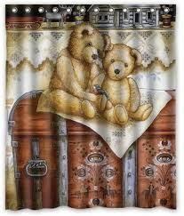 Teddy Shower Curtain Buy Prince Shower Curtain Excellent Quality In Cheap Price On