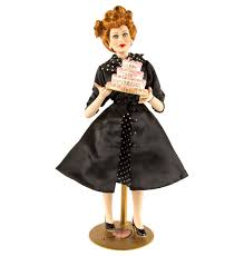 Lucille Ball I Love Lucy I Love Lucy 50th Anniversary Lucille Ball Porcelain Doll
