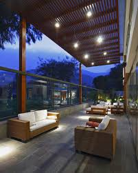 architecture awesome terrace and stone tile floor in comfortable