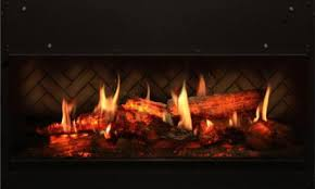 Realistic Electric Fireplace Logs by These Wall Mount Electric Fireplaces Are Built Into The Wall And