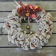 burlap wreaths burlap wreaths 3 beautiful diy craft ideas