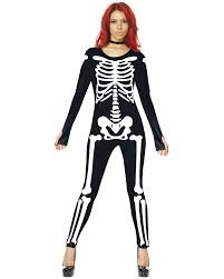 skeleton costume womens skeleton costumes accessories and party supplies free express