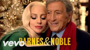 commercial lady gaga barnes and noble lady gaga tony bennett christmas caign barnes noble ᴴᴰ