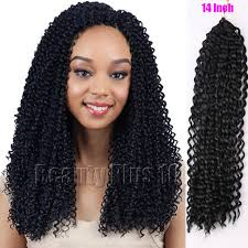 medium size packaged pre twisted hair for crochet braids 14 synthetic hairstyles freetress water wave hair extension