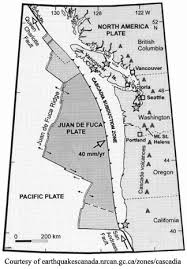 physical map of oregon juan de fuca plate cascadia geography of bioregion name flag images maps