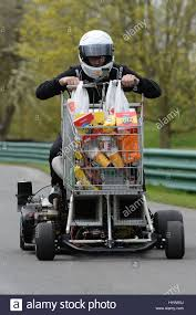 fastest ford matt mckeown on board the world u0027s fastest shopping trolley as he