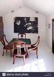 card room in omar sharif house lagomar sharif is said to have