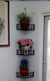 Wrought Iron Bathroom Shelves Wall Mount Corner Shelves Foter