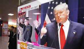 with trump in power pyongyang playing up it u0027s time for the us