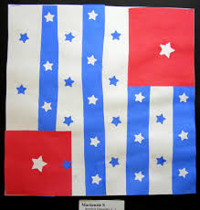 Johns Flag Suffield Elementary Art Blog Jasper Johns Flag Design Challenge