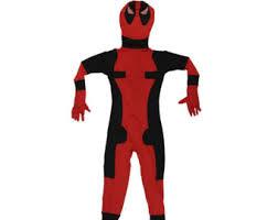 Halloween Costumes Deadpool Deadpool Costume Etsy