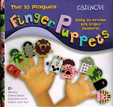 passover toys finger puppets the 10 plagues ideal gift for passover pesach