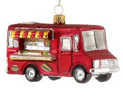 food truck personalized ornament
