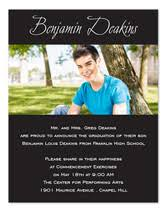 what to put on graduation announcements invitation wording sles by invitationconsultants