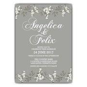 fancy wedding invitations wedding invitations paperstyle