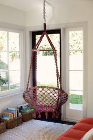 hanging chair macrame diy for the home juxtapost