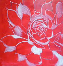 how to paint flowers with acrylics step by step hens and