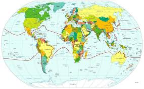 Trees Worldwide The Werth Coconut Distribution Map Of 1933 Puts Bermuda