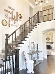 Ideas For Staircase Walls Stairway Wall Decorating Ideas Interest Photo Of Deddcdcfaead