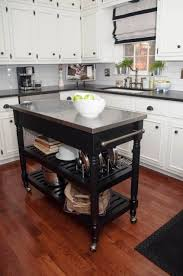 kitchen carts kitchen island ideas modern wooden trolley cart oak