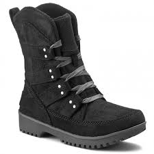 ugg s meadow boots boots sorel meadow lace nl 2208 011 black winter boots