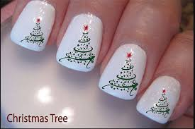 christmas present nail design how you can do it at home