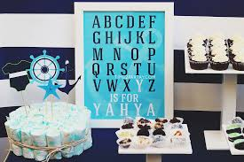 Nautical Theme Babyshower - nautical themed baby shower time2partay com