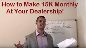 Car Salesman Education Car Sales The 3 Keys To Making 6 Figures Selling Cars Salesman