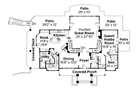 European Floor Plans European House Plans Brynwood 30 430 Associated Designs