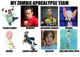 Zombie Team Meme - zombie apocalypse meme by aruluvr3 on deviantart geek