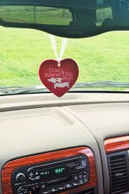 wiener car review review mirror ornament the