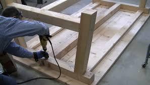 How To Build A Farmhouse Table How To Build A Farmhouse Table