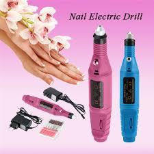 pen shape electric nail drill machine art salon manicure file