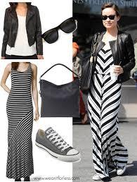 wear it for less olivia wilde striped maxi dress